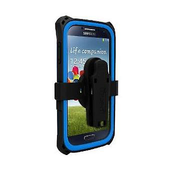 Trident - Kraken Protective Case for Samsung Galaxy S4 - Blue/Black