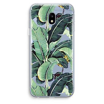 Samsung Galaxy J3 (2017) Transparent Case (Soft) - Banana leaves