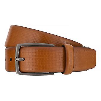 Ceintures pour hommes de Strellson ceintures cuir ceinture Cognac 7558