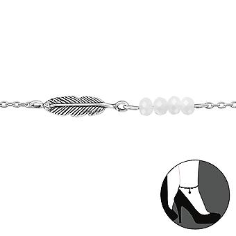 Feather - 925 Sterling Silver Anklets - W29961x