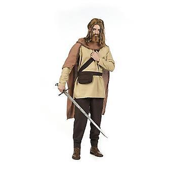 Wikinger Hans Mittelalter Herren Kostüm Wikingerkostüm Herrenkostüm