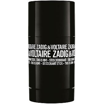 Zadig & Voltaire This is Him Deostick 75ml