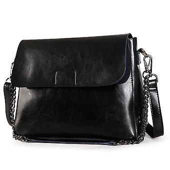 Shoulder handbag in genuine cow leather K8604