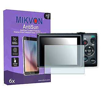 Canon PowerShot ELPH 115 IS Screen Protector - Mikvon AntiSun (Retail Package with accessories)