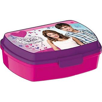 Disney lila Lunchbox