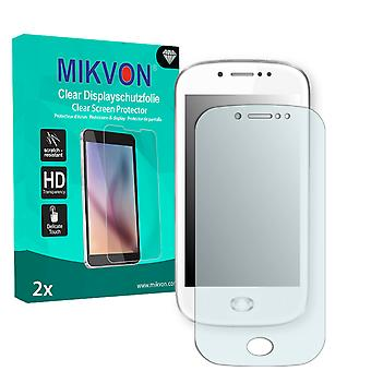 Wiko Sublim Screen Protector - Mikvon Clear (Retail Package with accessories)