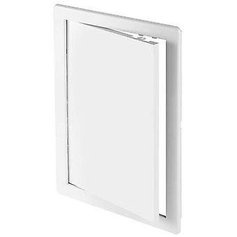 ABS weiß Kunststoff dauerhaft Revisionstür schlüpfen Wand Zugangstür verschiedene Größen