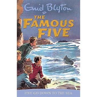 Five Go Down to the Sea by Enid Blyton - Eileen Soper - 9780340681176