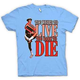 Mens T-shirt - te vreemd Live-te zeldzaam om te sterven - Fear And Loathing in Las Vegas