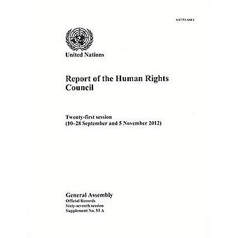 Report of the Human Rights Council - Twenty-First Session (10-28 Septe
