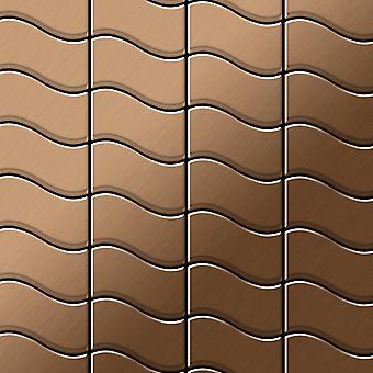 Metal mosaic Titanium ALLOY Flux-Ti-AB