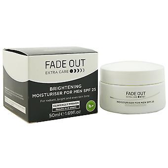 Fade out Moisturiser for men SPF 25 face cream for men 50 ml