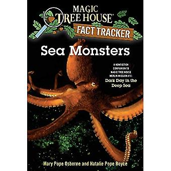 Sea Monsters: A Nonfiction Companion to Dark Day in the Deep Sea (Magic Tree House Research Guides)