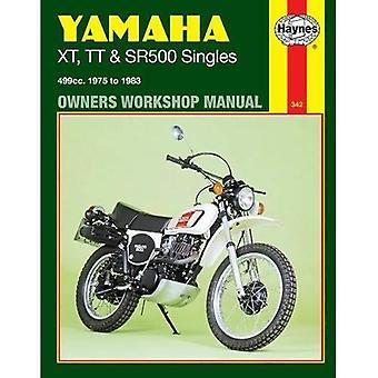 Yamaha XT, TT and SR500 Singles 1975-83 Owner's Workshop Manual (Motorcycle Manuals)