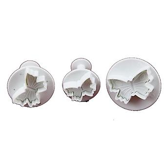 Set de 3 petits Plongeurs veiné papillon Cutters Sugarcraft