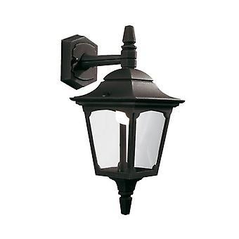 Kapel Mini Down wand lantaarn zwart - Elstead verlichting