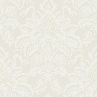 Damask Wallpaper Glitter Glisten Shiny Shine Sparkle Metallic Pearl Light Gold