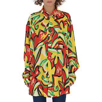 Balenciaga Multicolor Silk Shirt