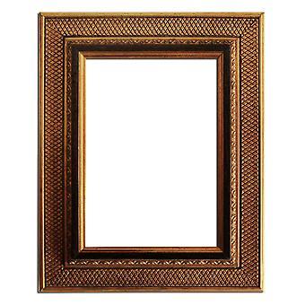 10x15 cm eller 4x6 tum, fotoram i guld