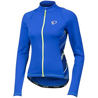 Pearl Izumi  Dazzling Blue Whirl Select Pursuit Thermal Womens Long Sleeved Cycl