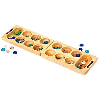 Traditionelles Holz-Mancala-Spiel