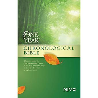 One Year Chronological Bible-NIV by Tyndale House Publishers - 978141