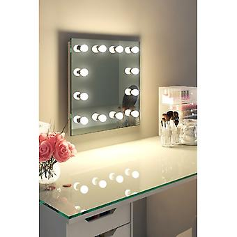 Diamond X Wallmount Hollywood Audio Mirror with Dimmable LED k411CWaud