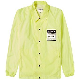 Maison Margiela 10 Stereotype Coach Jacket Yellow
