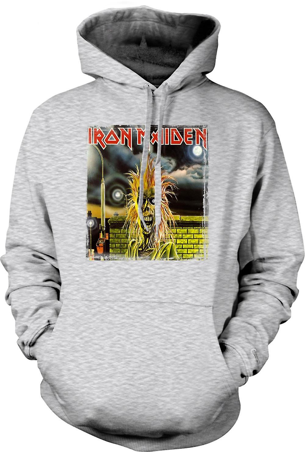 Mens Hoodie - Iron Maiden - skivomslag