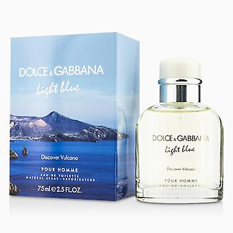 Dolce & Gabbana Light Blue Discover Vulcano Eau De Toilette Spray 75ml/2.5oz