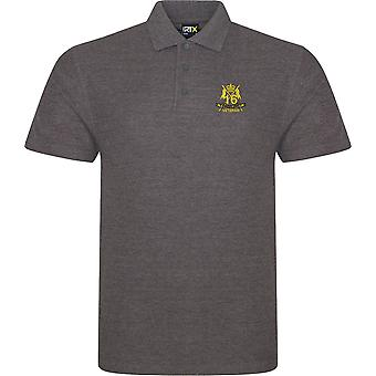16th 5th The Queens Royal Lancers Veteran - Licensed British Army Embroidered RTX Polo