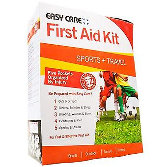 Easy care first aid kit, sport and travel, 1 kit