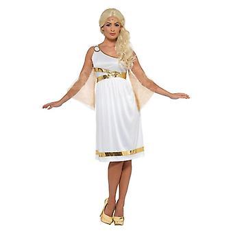 Womens Grecian Costume Fancy Dress Costume