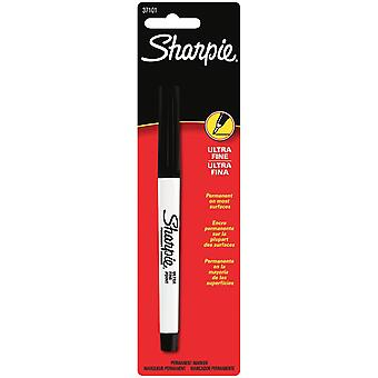 Sharpie Ultra Fine Point Permanent Marker 1 Pkg Black 37101Pp