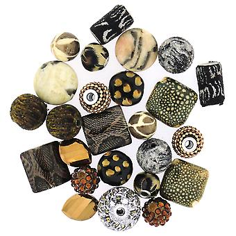 Inspirations Beads 50 Grams Wild Side Inspir 7065