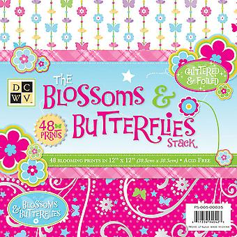 Blossoms & Butterflies Paper Stack 12