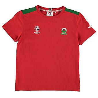 Wales UEFA Euro 2016 Core T-Shirt (Red) - Kids