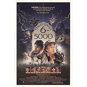 Transilvânia 6-5000 Movie Poster Print (27 x 40)