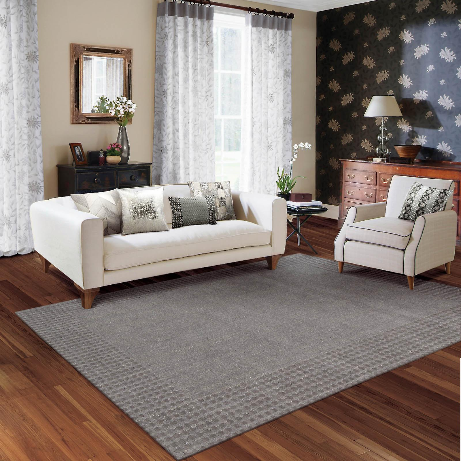 Cottage Grove Rugs Ki700 Steel Grey