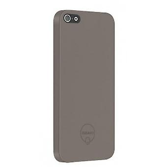 Knæk O! Solid slim frakke OC530LB 0,3 mm dække sag iPhone 5 / 5S Brown