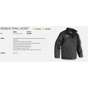 Reebok team jakke sort senior