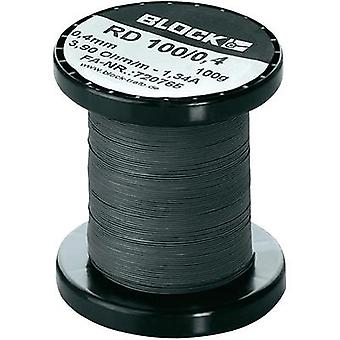 Resistance wire 6.93 Ω/m Block RD 100/0,3 158 m