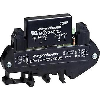 Crydom DRA1-CXE380D5 DIN Rail Mount Solid State Relay, AC