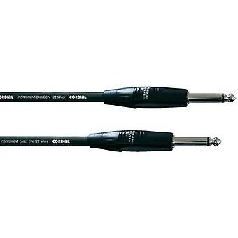 Cordial CII 6 PP 6.3 mm Jack Instrument cable Black