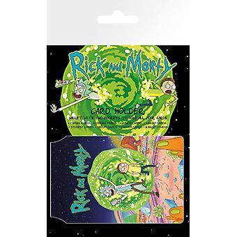 Rick und Morty Portal-Kartenhalter