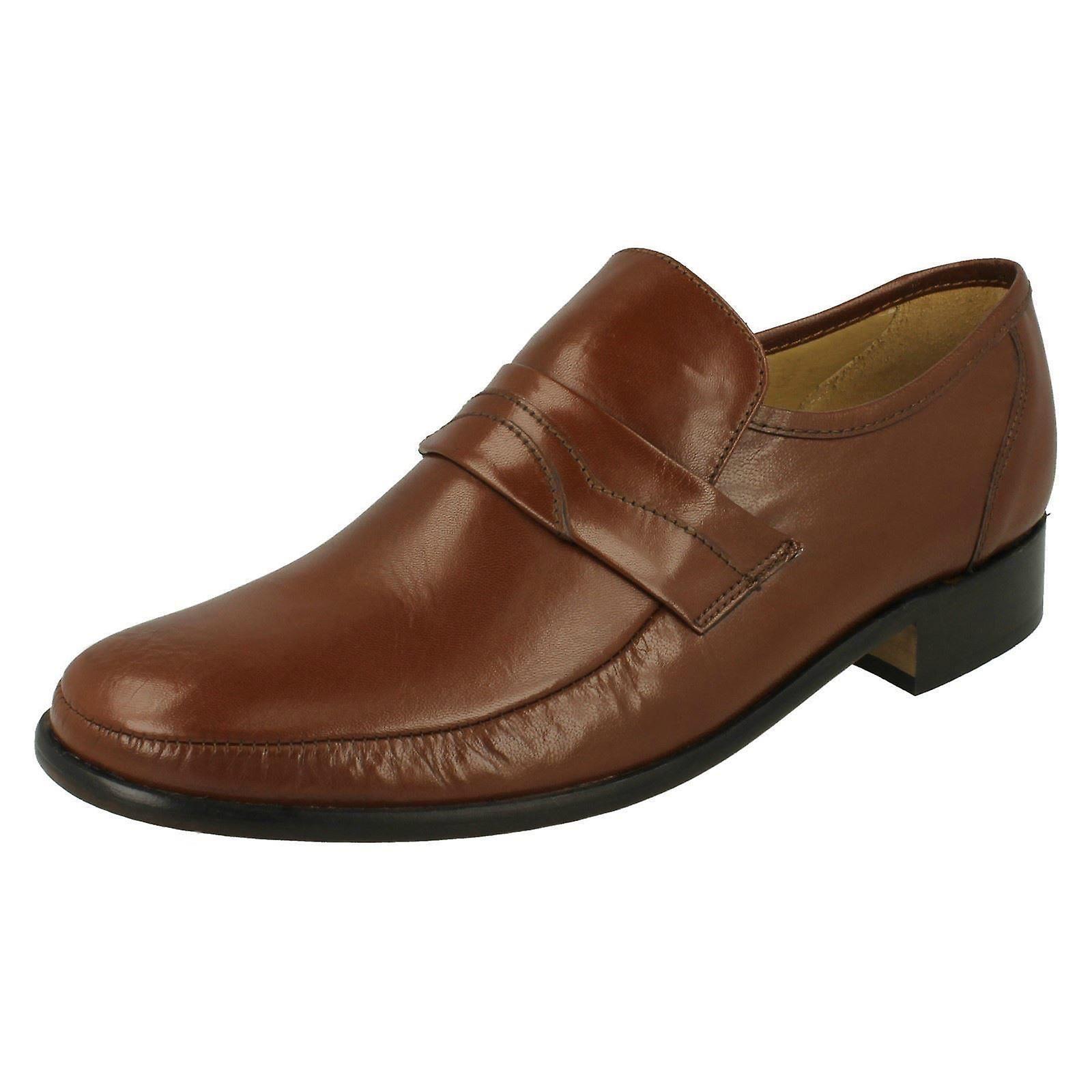 Mens Thomas stumpf auf elegante Schuhe Swindon 2 Rutschen