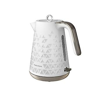 Morphy Richards 108252 prisma hervidor en blanco