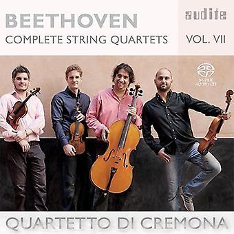Beethoven, L.V. / Cremona de Di Quartetto - Beethoven, L.V. / Cremona de Di Quartetto: importación de Estados Unidos 7 de cuartetos de cuerda completos [SACD]