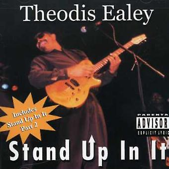 Theodis Ealey - Stand Up i det [CD] USA Importer