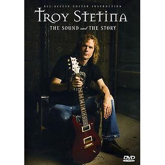 Troy Stetina - lyd & historie [DVD] USA importerer